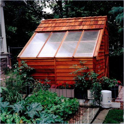 Best Cedar Shed Sunhouse Backyard Greenhouse Storage Shed 8Ft X 400 x 300