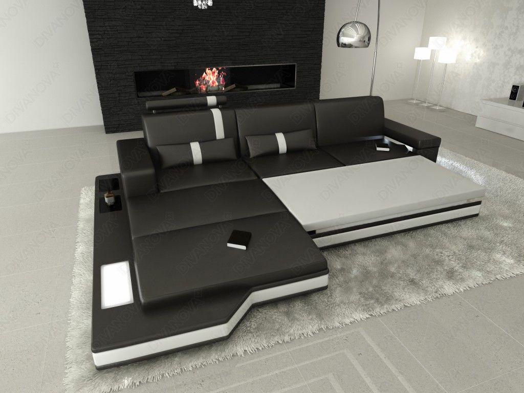 Proxima divano angolare con funzione letto divani letto pinterest l shaped - Divano letto angolare divani e divani ...