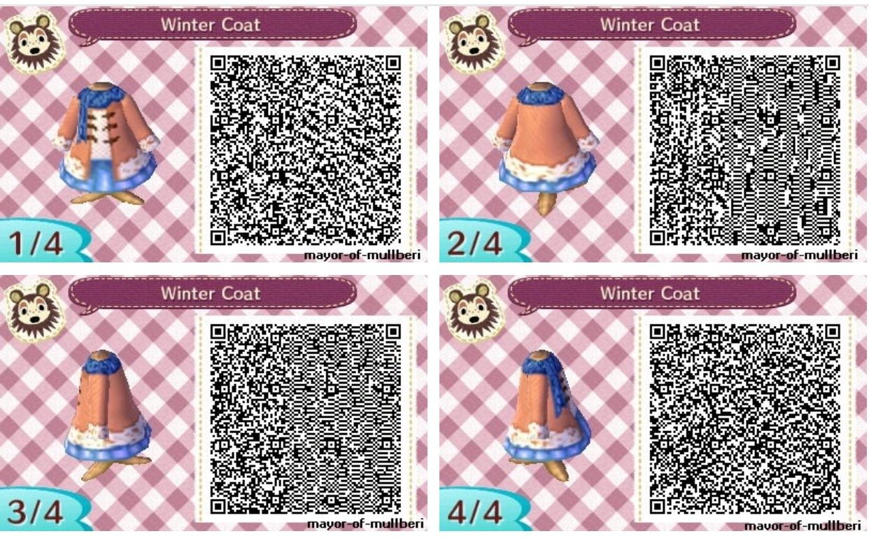 Image of: Acnl Qr Animal Crossing New Leaf Suit And Tie Qr Code Makeup Spring Center Building Home Design Inovation Animal Crossing New Leaf Qr Codes Winter Dresses All About Costumes