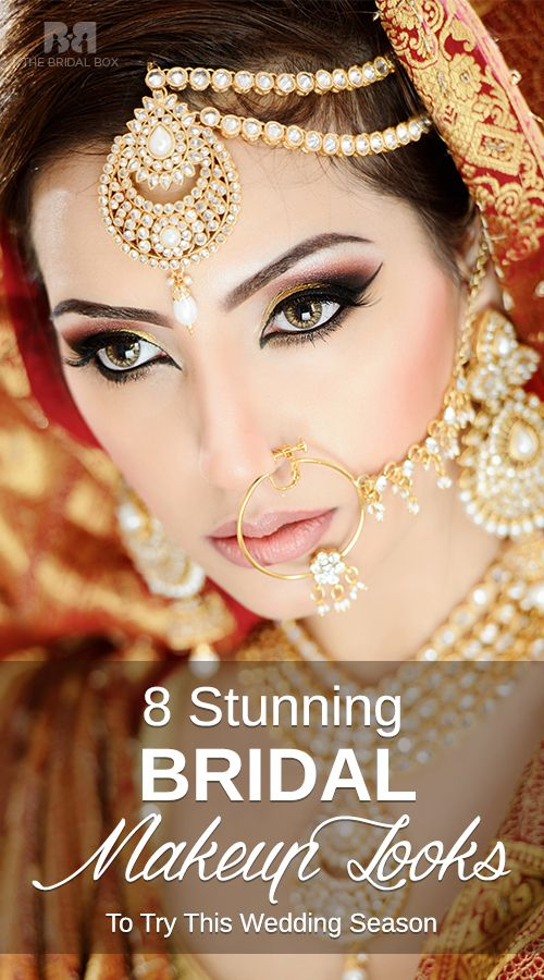 Unique Bridal Makeup : 8 Stunning Bridal Makeup Looks To Try This Wedding Season ...