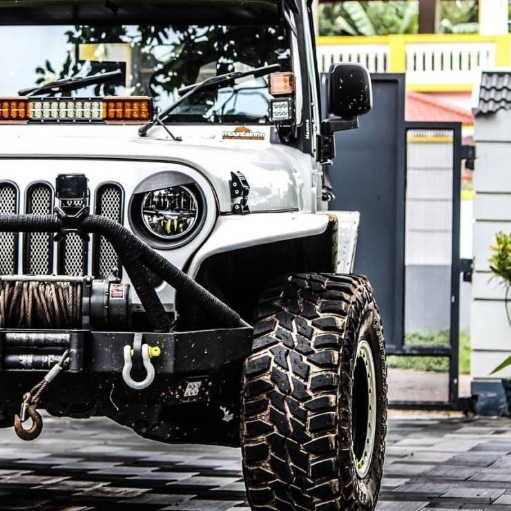 This Modified Mahindra Thar Pulls Off The Jeep Wrangler Look