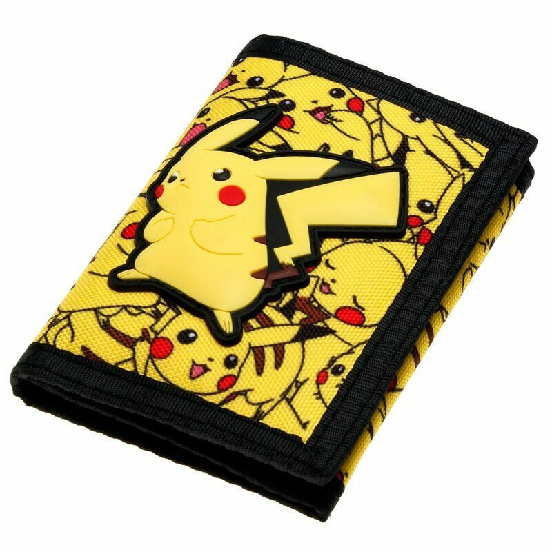 Perfect Gift for Pokemon Go Fans Birthday Gift Anime NEW Pikachu Wallet Purse