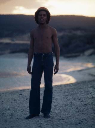 Bob Marley at Hellshire Beach  73