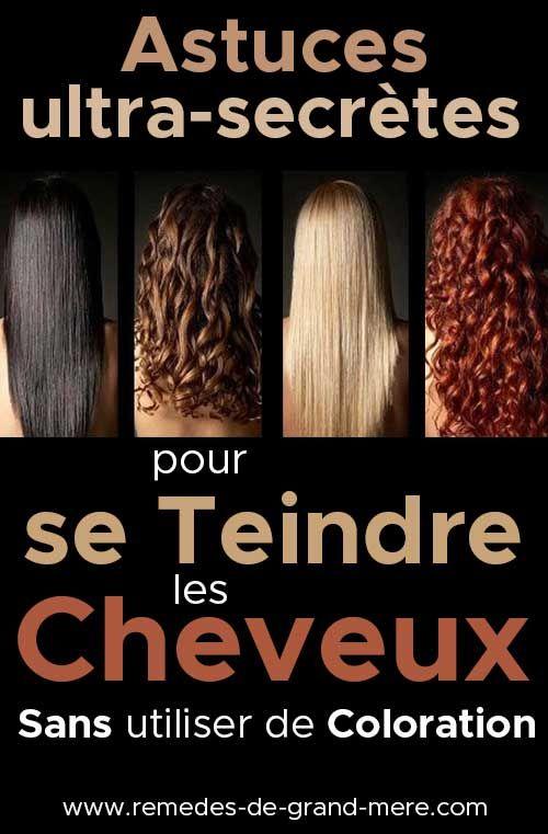 6 façons naturelles de teindre les cheveux