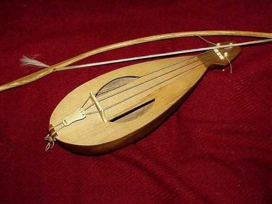 musical instrument: rebec