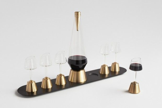 Bishop of Norwich Decanter Set by Kacper Hamilton
