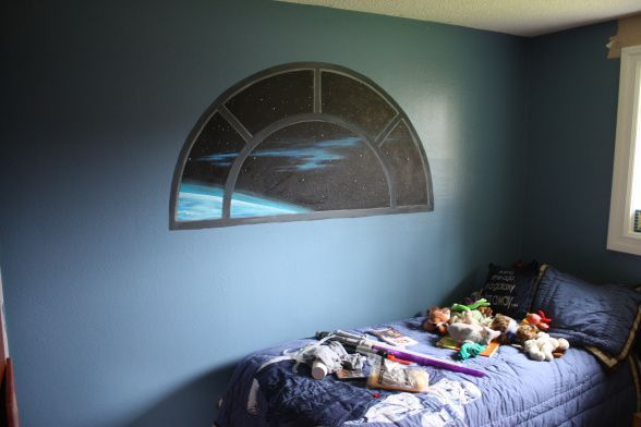 Star Wars Room Design Ideas Picture Window Space   Oliver\'s ...