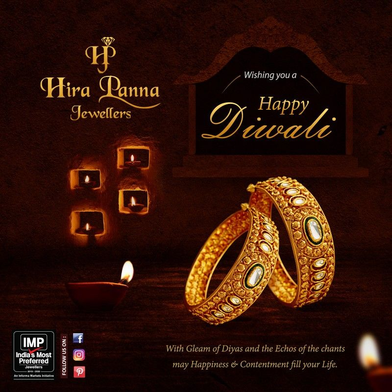 Team Hira Panna Jewellers wishes you a very Happy and