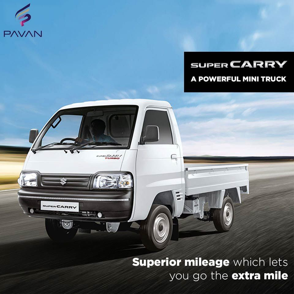 Introducing The Maruti Suzuki Super Carry Cab Chassis Now Enjoy Better Value For Money Marutisuzuki Supercarry Pava Commercial Vehicle Mini Trucks Suzuki
