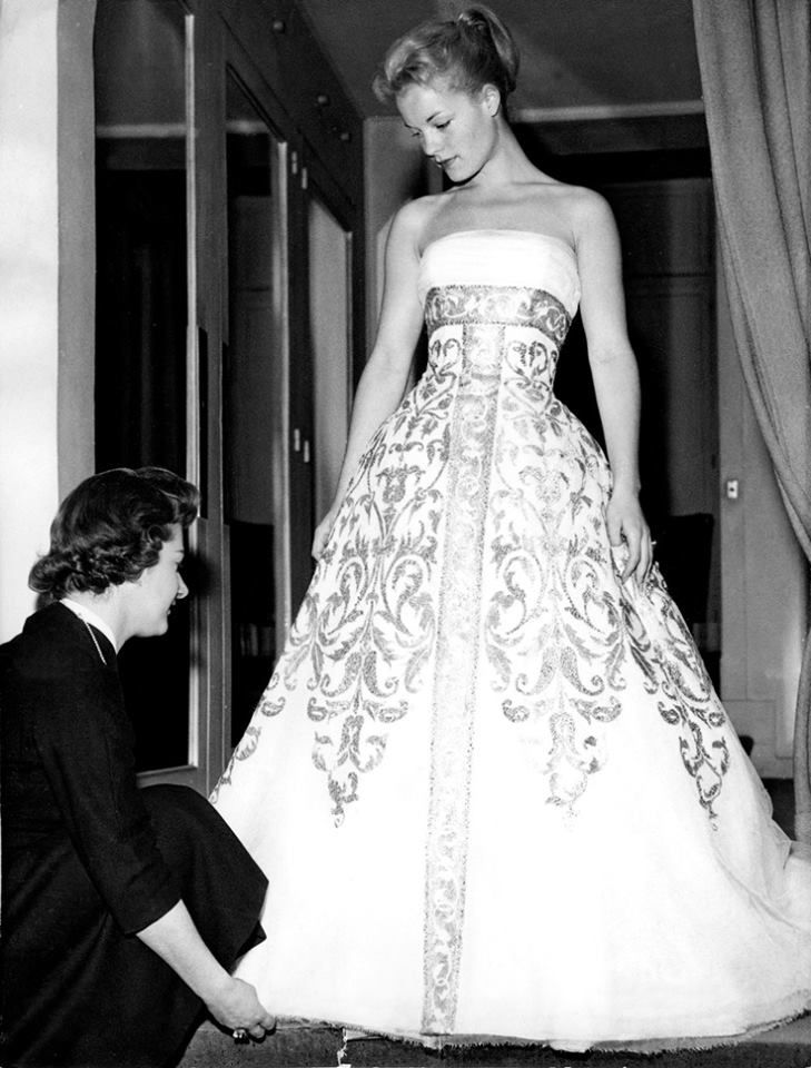 romy gets a dress fitted