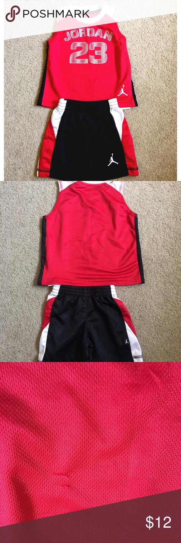 88d1e183ea0f10 ✨BOYS NIKE BASKETBALL OUTFIT✨ Boys NIKE AIR JORDAN basketball outfit. Tank  top and