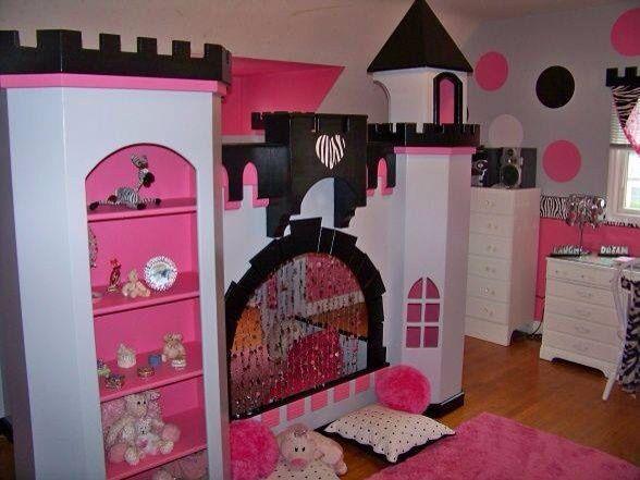 castillo negro y rosa   Diseño   Pinterest   Castillos y Negro