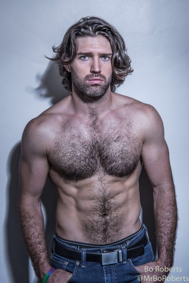 Sexy cool hairy men