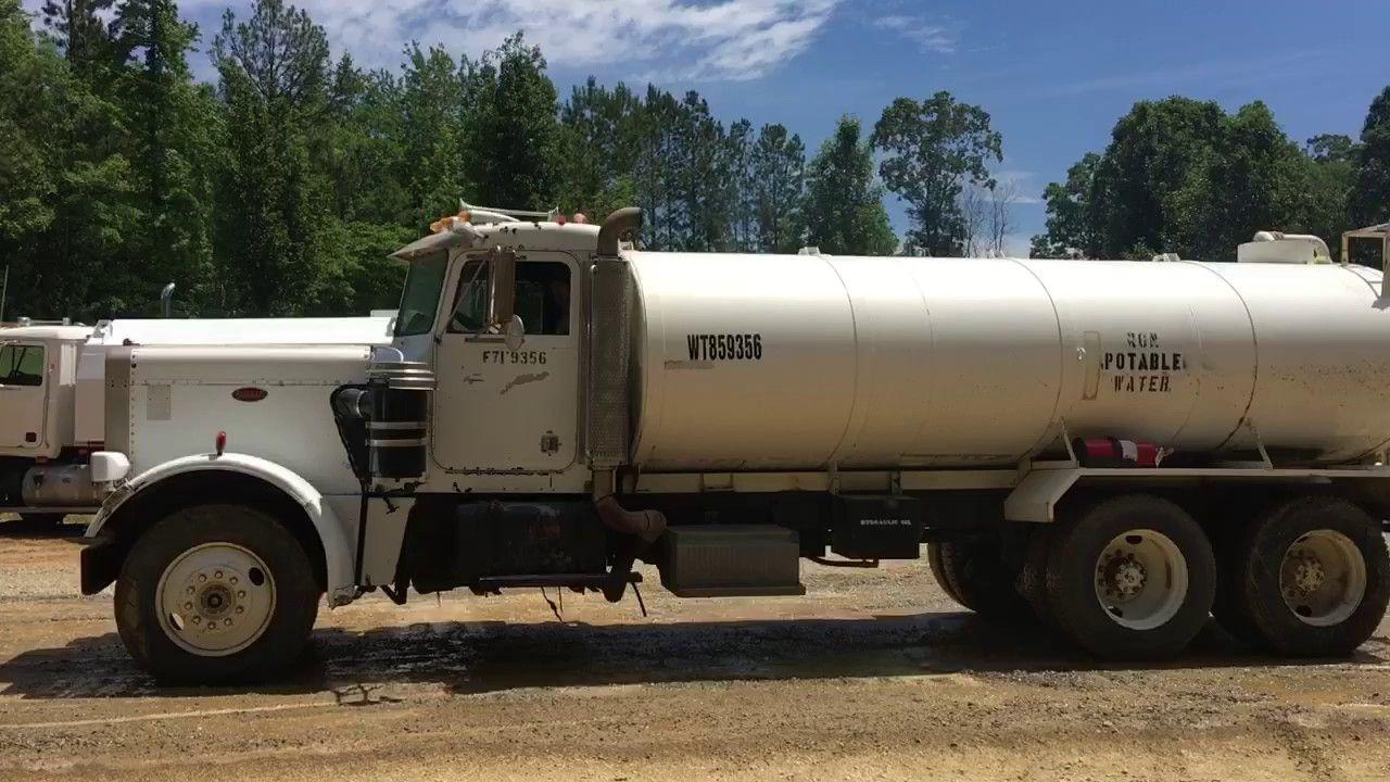 Image Result For Peterbilt Water Tanker Truck Trucks Tanker Trucking Peterbilt