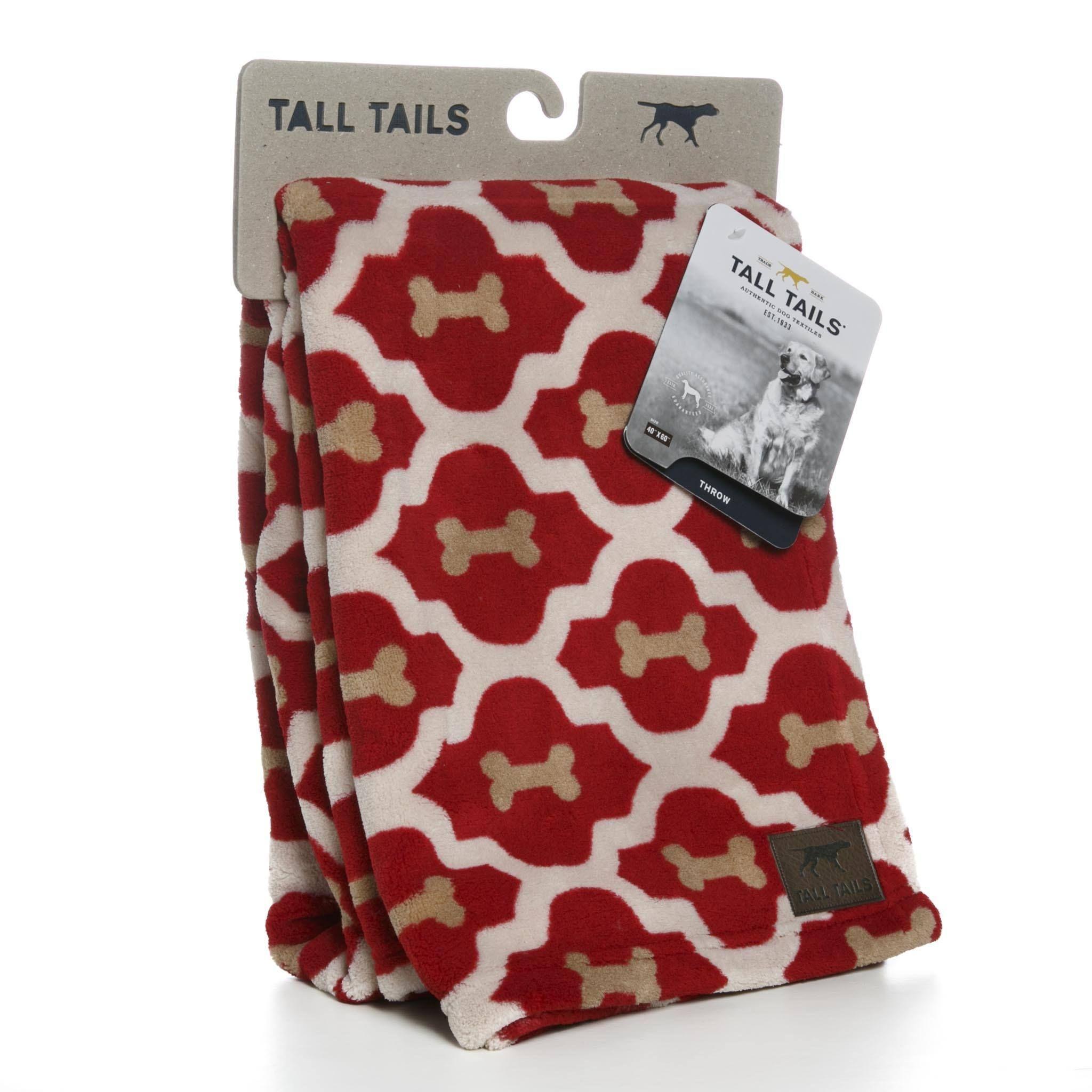 Tall TailsDog Bed Blanket Red Bone Red bone, Red, Blanket