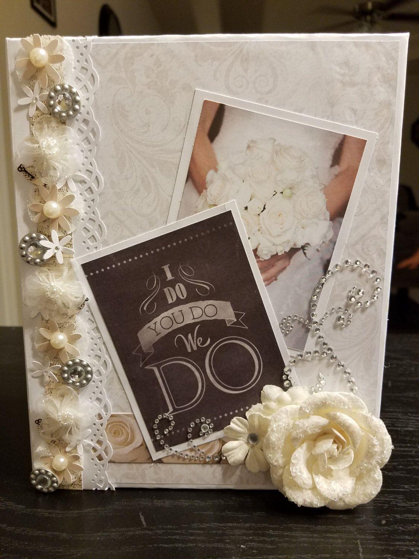 Wedding Scrapbook Albums Diy Mini Photo Album Making Kit Vintage