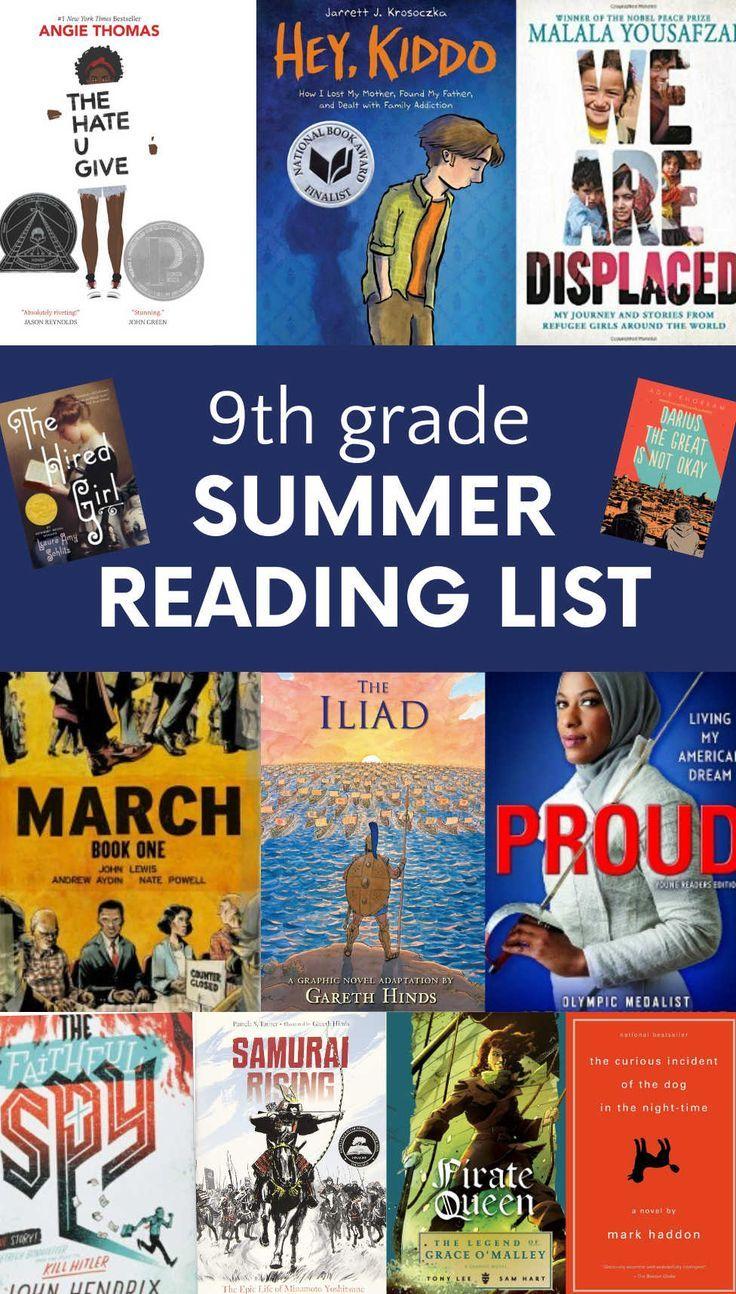 9th grade summer reading list the best books for