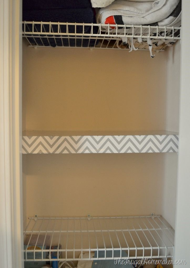 How To Change Up Wire Shelves For Less Than 10 With Foam