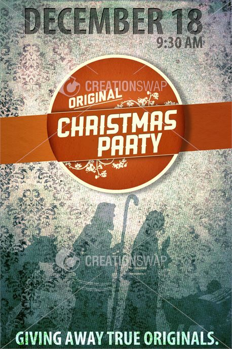 Christmas Party Poster Ideas Part - 26: Christmas Series: Original Xmas Party Poster
