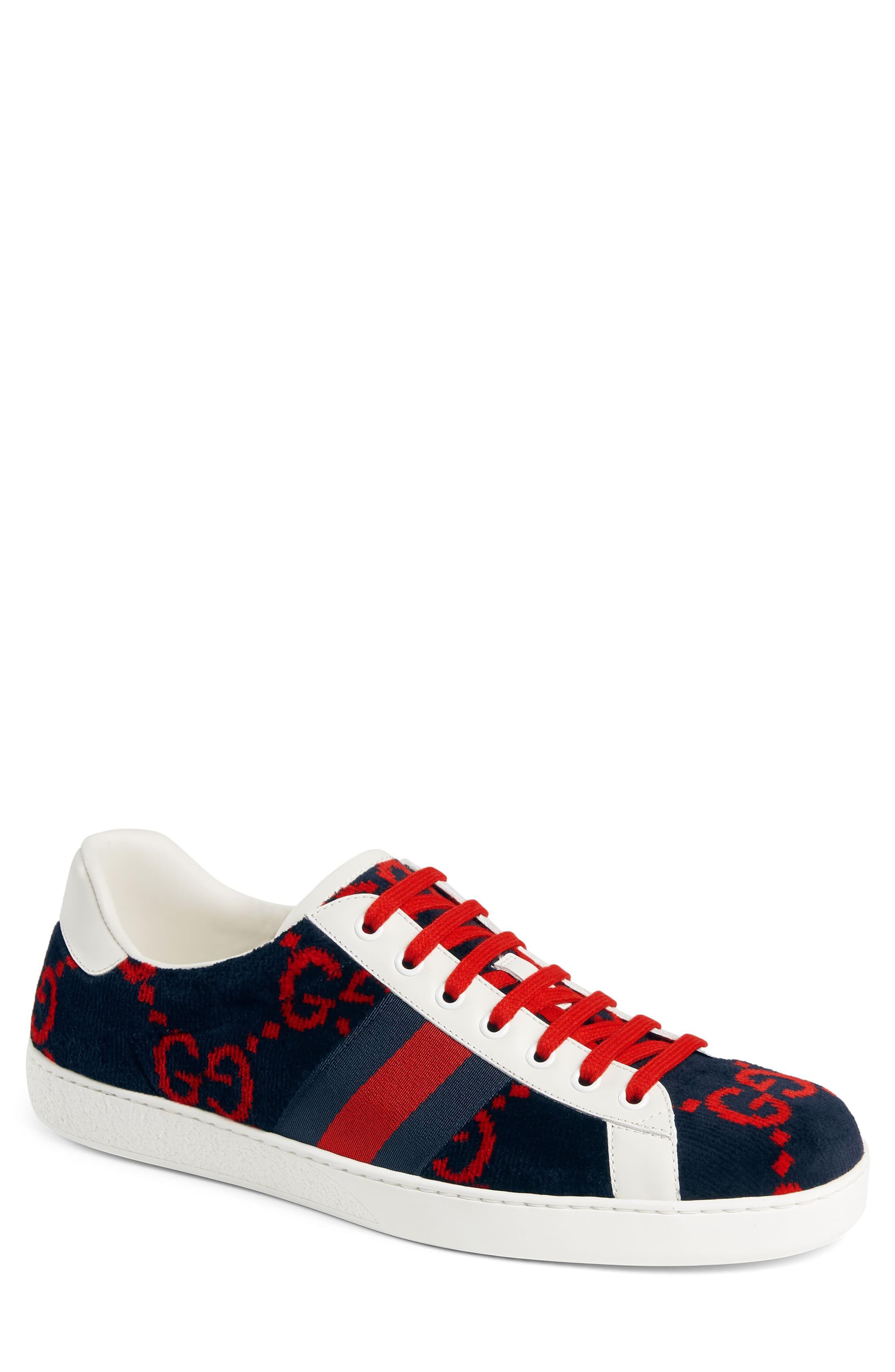 Gucci New Ace GG Logo Sneaker (Men
