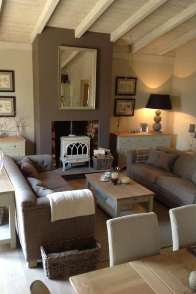 Modern Country Home Interiors For Autumn Winter Southport - Decorating ideas for family rooms british design
