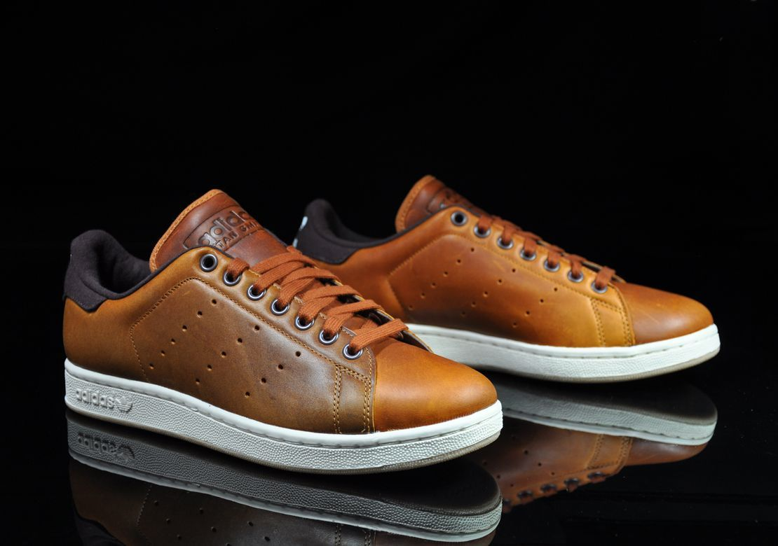 adidas stan smith cuir marron