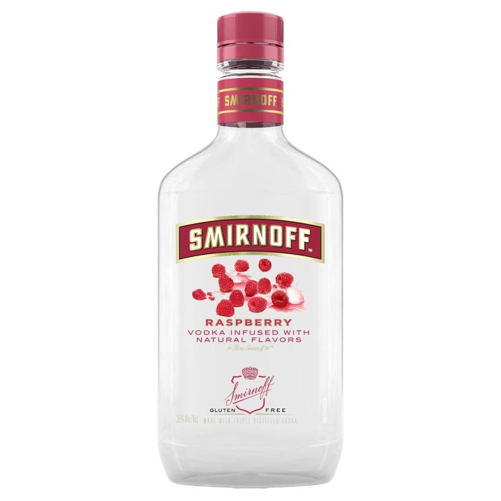 Smirnoff Raspberry Vodka - 375ml Plastic Bottle #raspberryvodka