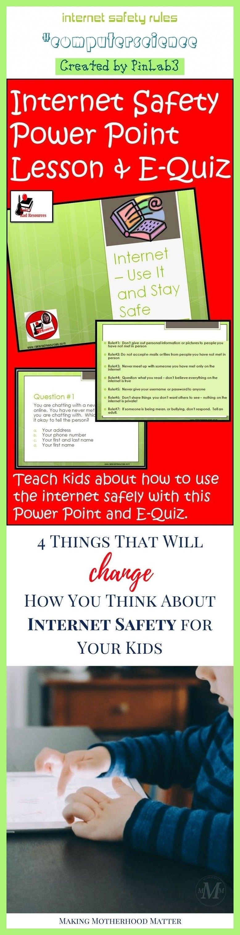 internet safety rules | Internet safety rules, Internet ...