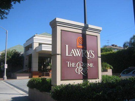Lawry's The Prime Rib - 100 N La Cienega Blvd, Beverly Hills