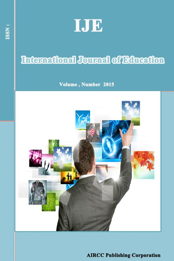 International Journal of Education (IJE)  International Journal of Education (IJE) is a Quarterly peer-reviewed and refereed open access journal that publishes articles which contribute new results in all areas of Education.