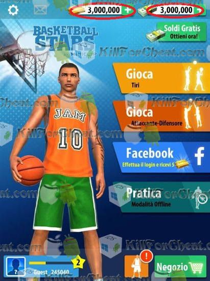 basketball stars unlimited money and gold apk download