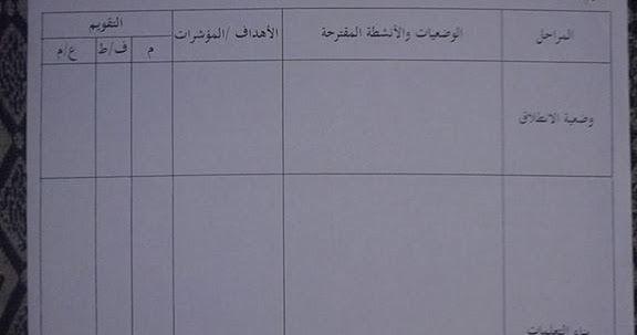 نموذج مذكرة فارغة للتعليم الابتدائي الجيل الثاني Primary Education Education Memorandum