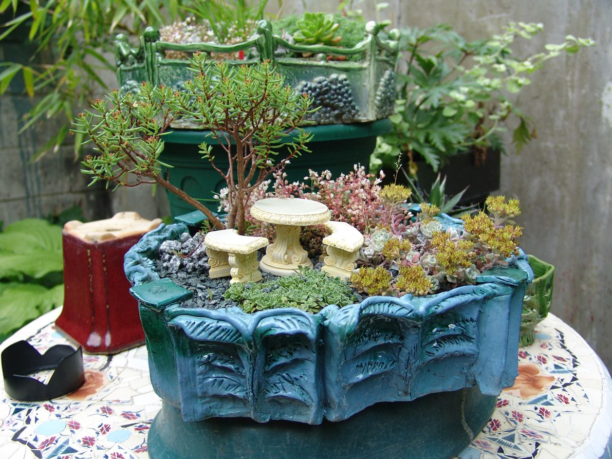 Small Crop Of Miniature Garden Ideas