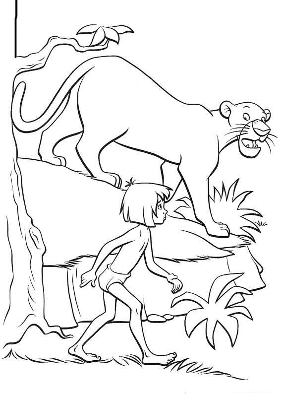 Das Dschungelbuch Ausmalbilder 31 Kinderfarben Disney Malvorlagen Ausmalbilder
