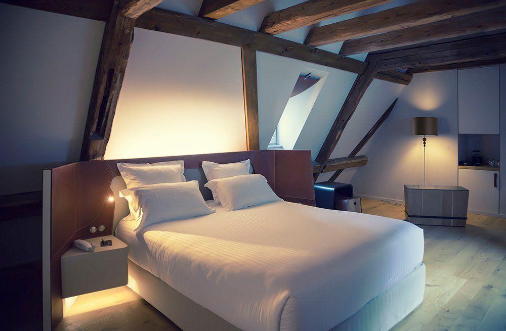 Romantyczna Sypialnia Dla Dwojga Na Poddaszu Design