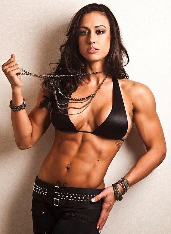 Naked Wrestling Female Fitness Model Pictures 60