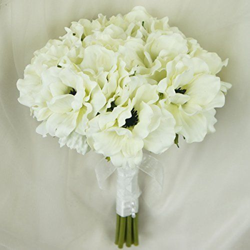 Lily garden silk anemone artificial flowers wedding bouquet ivory lily garden silk anemone artificial flowers wedding bouquet ivory you can get additional details at the image link this is an affiliate link mightylinksfo