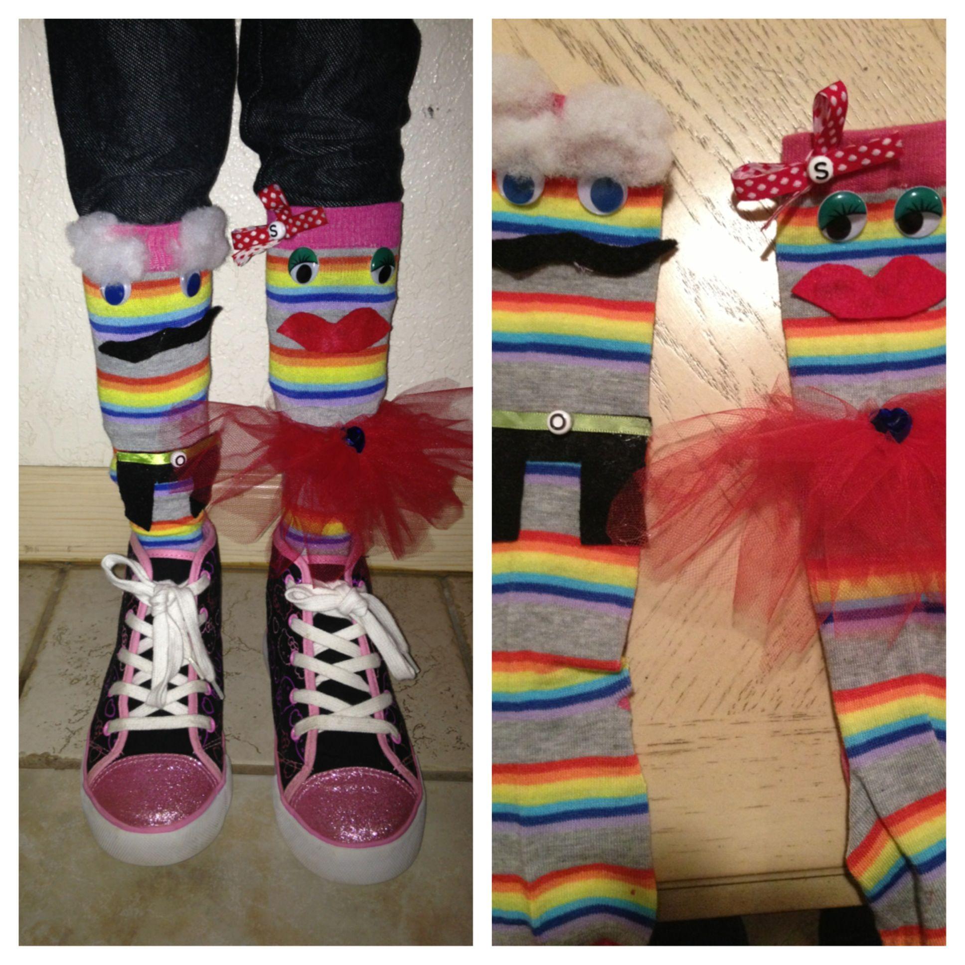 Crazy sock day #crazysockdayideas