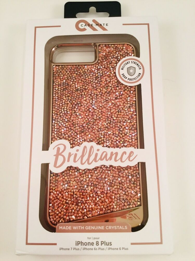 save off 830f8 ba58e Case Mate Brilliance Crystals Case Rose Gold - iPhone 6s Plus, 7Plus ...