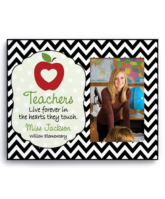 Teachers Live Forever\' Personalized Frame