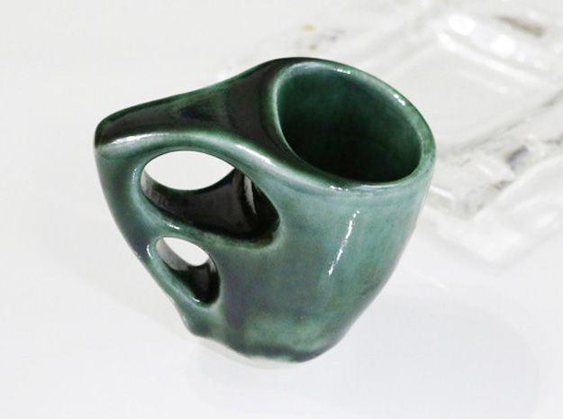 3D printed Espresso cup. Mizu laboratory Inclusive design