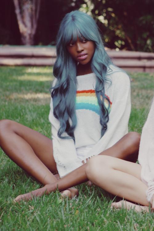 blue hair! its ciel colored!! | Hair | Hair styles, Hair ...
