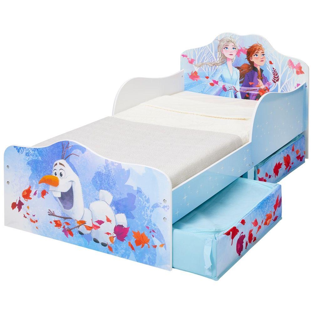 Frozen 2 Toddler 2 Drawer Storage Bed in 2020 | Toddler ...