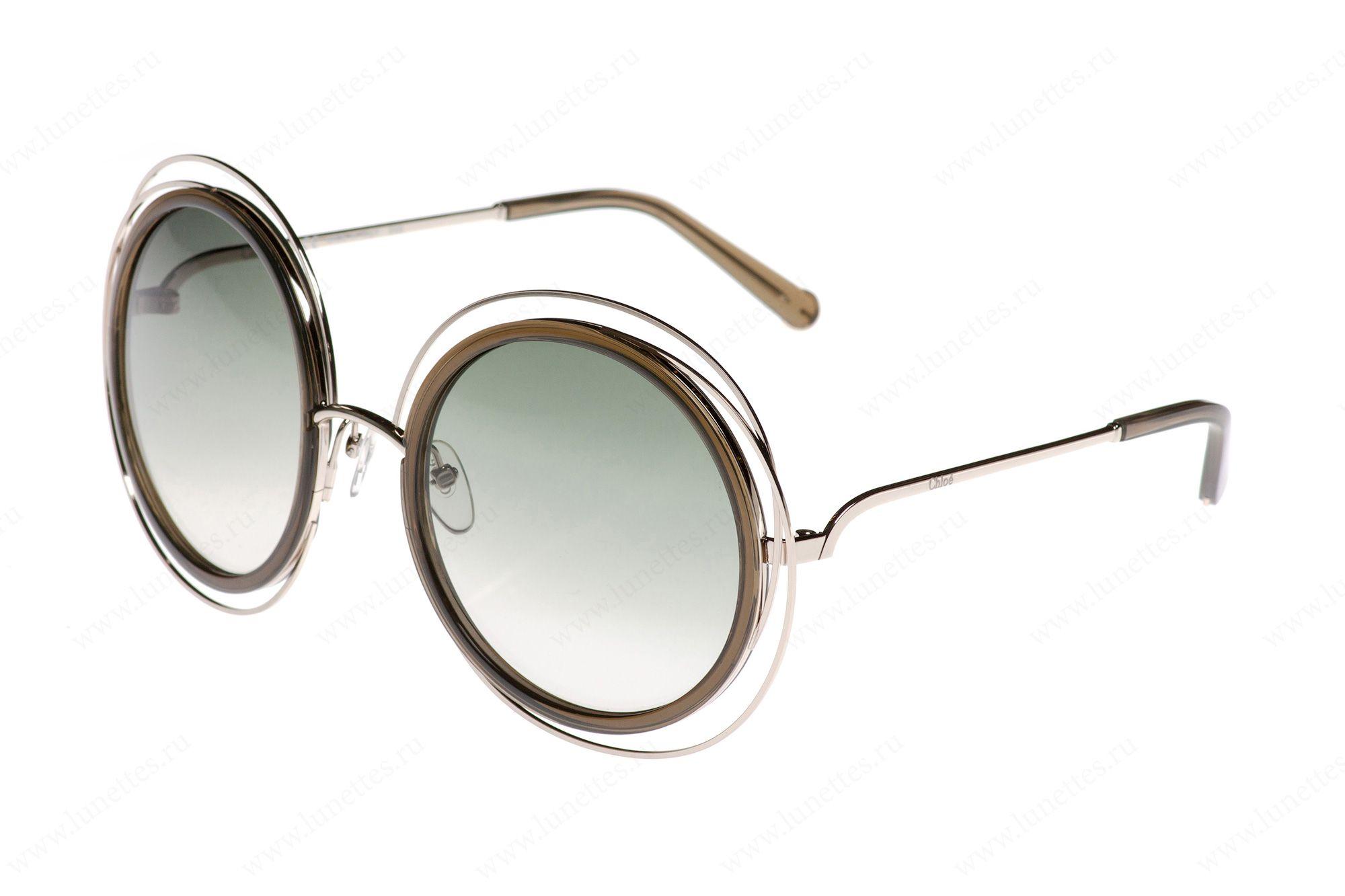 808a9ec60080 Купить солнцезащитные очки Chloe 120S 750 в интернет-магазине
