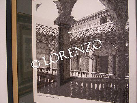 Almansa Galerias Patio Casa Grande Dibujo A Plumilla Sobre Papel Dibujo A Pluma Galerías Plumas