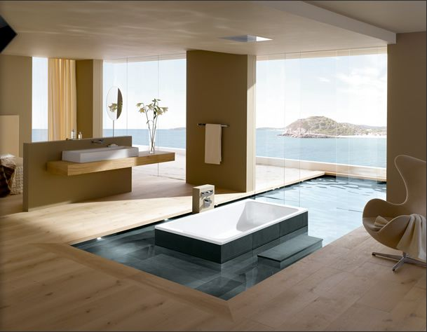 Bathtub with a view, awesome