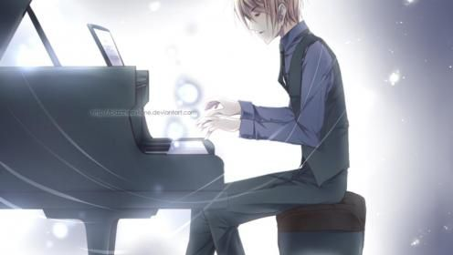 The Pianist Wallpaper Piano Anime Anime Music Pianist