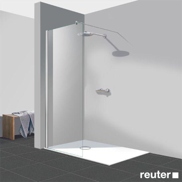 Reuter kollektion easy neu walk in gerades element klar - Badezimmer ausbau ...