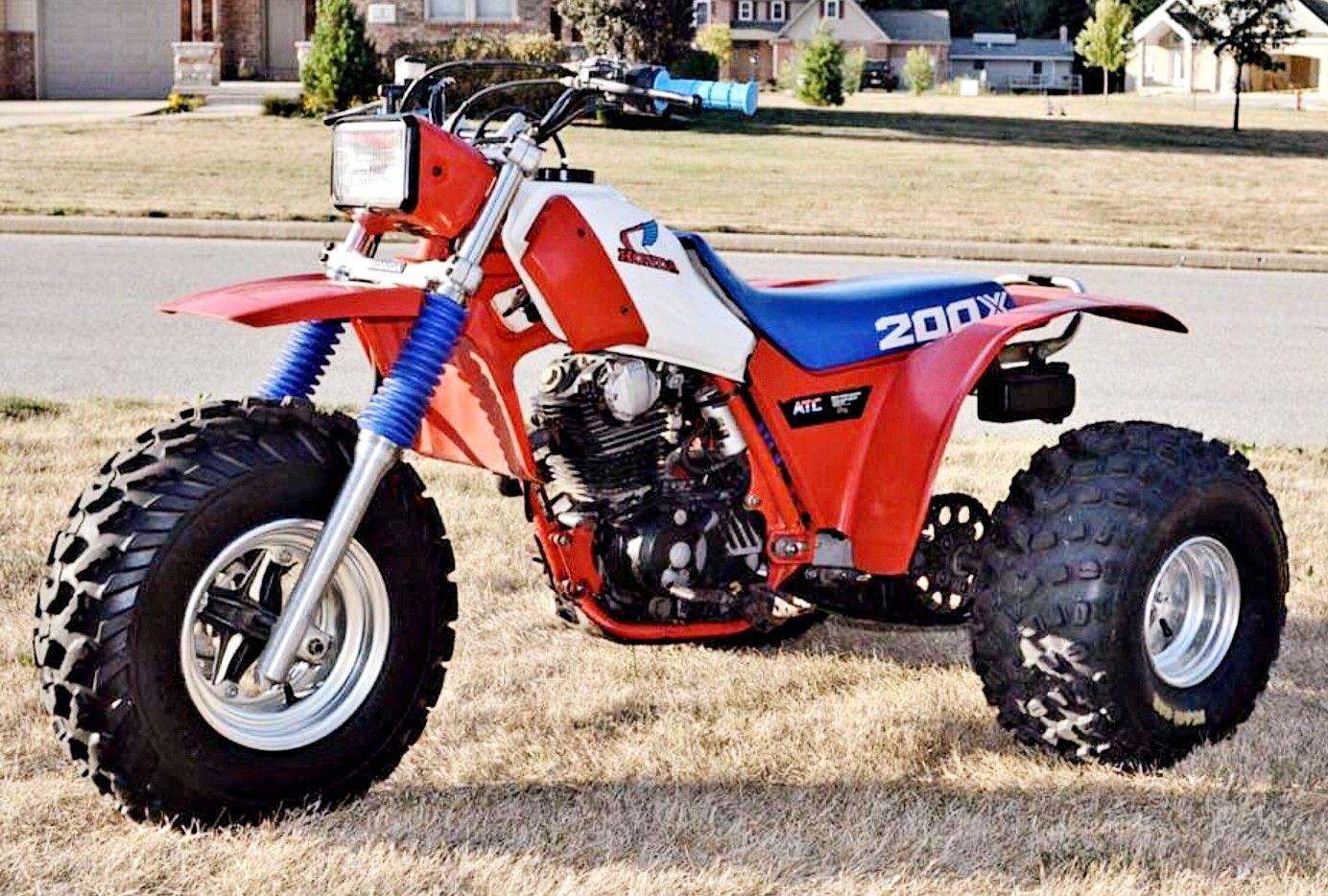 1985 Honda Atc200x Honda Motorcycles Honda Bike