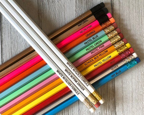 225 Personalized Pencils 225 Engraved Pencils 225 Custom Pencils